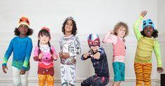 Kid Them All children's pyjamas - less lullaby, more mayhem #Cotton, #DressUp, #KidThemAll, #Pyjamas, #Sleepwear, #Superhero