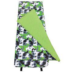 Green Camo Nap Mat - 28088