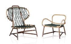 Design: Paola Navone 'Manila' the outdoor armchair, an item featuring a modern and comfortable design, all curves and no sharp edges, a new example of the
