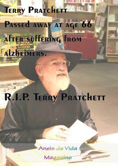 Donovan, Frances: Was Terry Pratchett a Feminist? Terry Pratchett, Book Signing, Alzheimers, Celebrities, Books, Life, Celebs, Libros, Book