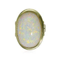 Opalring #secondhand und #vintage #ringe #opale und #schmuck auf der #schmuckboerse https://www.schmuck-boerse.com/index-gold-ringe-3.htm