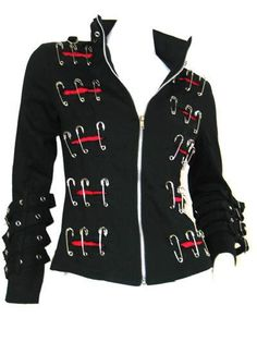 Clipper Gothic Punk jacket