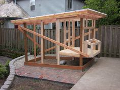 How to make your own chicken coop. #chicken #organic #farming