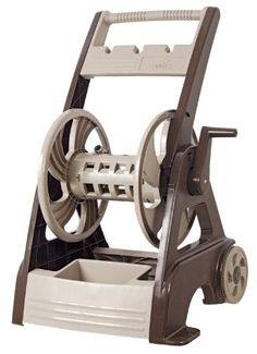 Hose Carts - Pin it :-) Follow us :-)) zGardensupply.com is your Garden Supply Gallery ;) CLICK IMAGE TWICE for Pricing and Info :) SEE A LARGER SELECTION of hose carts at  http://zgardensupply.com/category/garden-supply-categories/watering-equipment/hose-carts/ - garden, gardening, gardening gear, garden tools  -  Ames 2386280NL NeverLeak Hose Cart Reel, 250-Feet Hose, Tan and Brown « zGardenSupply