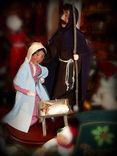 Byers Choice Nativity The Night Before Christmas, 12 Days Of Christmas, Christmas Carol, Christmas Ideas, Christmas Decorations, Xmas, Nativity Scenes, Twas The Night, Winter Fun