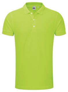 Perfekt polo for #corporatewear Russel Stretch polo Lime