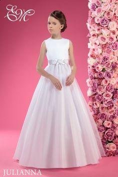 Modne sukienki komunijne dla dziewczynek - 30 fason�w!