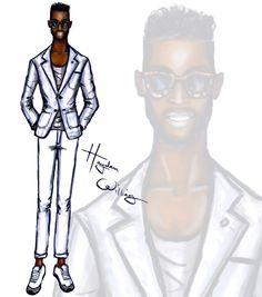 #LCM sketches - Tinie Tempah by Hayden Williams