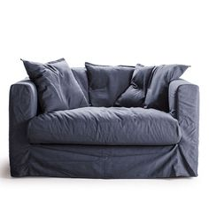 Le Grand Air Loveseat, Mörkblå, Decotique