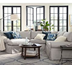 1000 Ideas About Tufted Sectional On Pinterest Leather