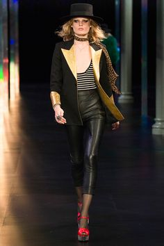 Saint Laurent Spring 2015 RTW – Runway – Vogue