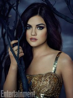 Lucy Hale as Aria Montgomery in Pretty Little Liars<3 I Love Her So Much<3