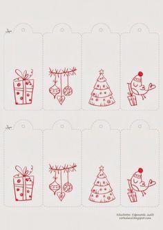 Free Christmas Printables 2013 on Behance Free Printable Christmas Cards, Printable Gift Cards, Christmas Gift Decorations, Christmas Graphics, Noel Christmas, Christmas Gift Tags, Christmas Wrapping, Christmas Crafts, Christmas Illustration