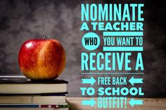 Who knows a Teacher that needs some free LuLaRoe? Come to my group and nominate them! I will give them a free LuLaRoe outfit if they win!