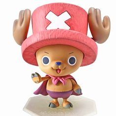 Anime One Piece Superman Tony Chopper Plating Cherry Pink Hat Action Figure Japan Anime Kids Toys For Children Juguetes - RykaMall Anime One Piece, One Piece Ace, One Piece Luffy, Groot Action Figure, Action Figure One Piece, Funko Pop One Piece, Funko Pop Superman, Tony Chopper, Manualidades