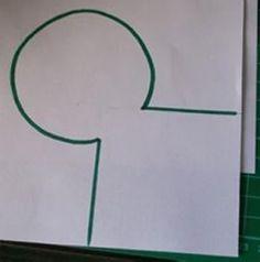 Borboleta de papel passo a passo