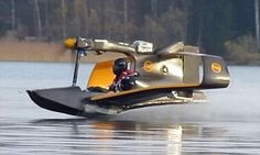 Is it a jetski? Is it a light aircraft? Revolutionary miniature electric flying boat could revolutionise personal air transport - Love Cars & Motorcycles Electric Aircraft, New Aircraft, Amphibious Aircraft, Electric Motor, Jet Ski, Float Plane, Ground Effects, Experimental Aircraft, Cool Boats
