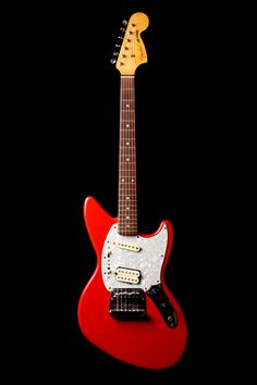 Fender 50th Anniversary Kurt Cobain Jag-Stang Fiest Red