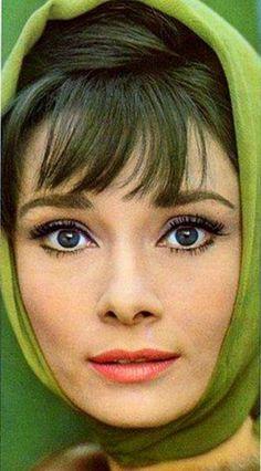 Audrey Hepburn in green