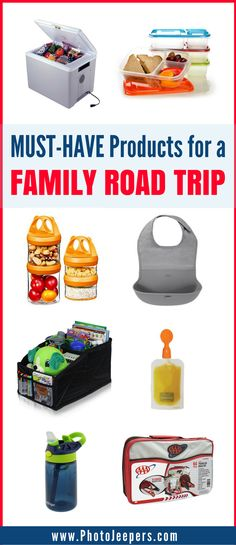 Are you looking for the best items to pack for a family road trip? A successful road trip with kids takes planning and organization. Pack these items for your family road trip to help with comfort, safety, entertainment and eating while driving to your destination. We share our favorite road trip products you need to pack. Make sure you save this to your family travel board so you can refer to this before your next family road trip! #Roadtrip #familyroadtrip #packingtips