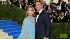 Jennifer Lopez & Alex Rodriguez Make Red Carpet Debut at Met Gala 2017!