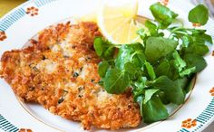 Lemon And Thyme Pork Schnitzel - Get this healthy recipe and loads of other mint tips with our Diet Club! Join Now!