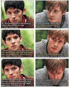 merlin commentary bradley and colin relationship