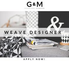 We have an unbeWEAVEable job opportunity!... Based in #Spain, our client; an international #fashion/ #home #interior brand are looking for their next #Weave #Designer! Send your #CV to info@gm-fashioncareer.com to apply
