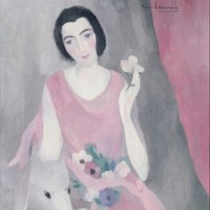 Portrait de Madame Paul Guillaume - Marie Laurencin