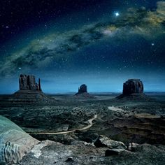 Milky Way over Monument Valley Framed Photographic Art Print on Canvas East Urban Home Belle Image Nature, Image Nature Fleurs, Monument Valley, Nature Verte, Road Trip Playlist, Image Hd, All Nature, Road Trip Usa, Best Photographers