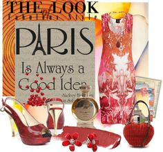 PARIS Anyone, created by arnetta on Polyvore