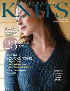 Interweave Knits Winter 2011