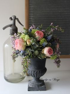 shabby flowers vintagestyle