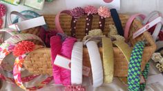 Craft Stalls, Fabric Headbands, Make And Sell, Arts And Crafts, School, Table, Fabric Bow Headband, Craft Booths, Tables