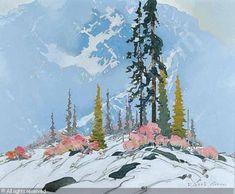 Broken Stall was sold by Levis Fine Art auction & Appraisals, Calgary (Alberta), on Sunday, November Watercolor Landscape, Landscape Art, Landscape Paintings, Watercolor Paintings, Watercolours, Canadian Painters, Canadian Artists, American Artists, Pictures To Paint