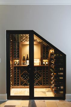 Trendy Under Stairs Closet Storage Ideas Wine Cellar Ideas Basement Storage, Stair Storage, Basement Remodeling, Office Storage, Closet Storage, Basement Stairs, Kids Basement, Hallway Storage, Storage Room