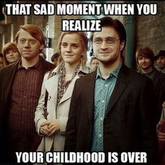 How i wish harry potter hadnt ended