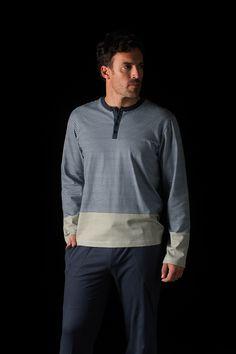 Pijama hombre en punto algodón Soy Underwear. #menswear #sleepwear #soy