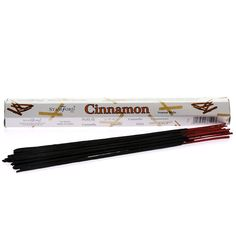 Stamford Cinnamon Incense Sticks:  20 Sticks per Pack Made in India Use for Prayers or Pleasure A great alternative to Fragrance Oils or Candles Premium Quality
