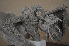 Dragon diorama WIP 2 by AntWatkins on DeviantArt