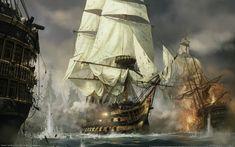 Napoleon Total War, video igre, brod, pojam umjetnosti, rat, jedrenjaci