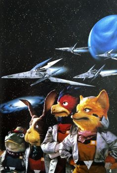 Star Fox! #snes Fox McCloud was one of my first fictional character crushes.