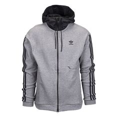 adidas Originals ST Full Zip Hoodie - Men's at Eastbay