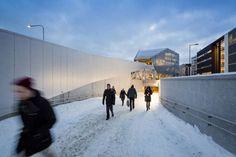 Tikkurila Commercial Centre and Station Facilities, Vantaa, Finland - Lahdelma & Mahlamäki Architects