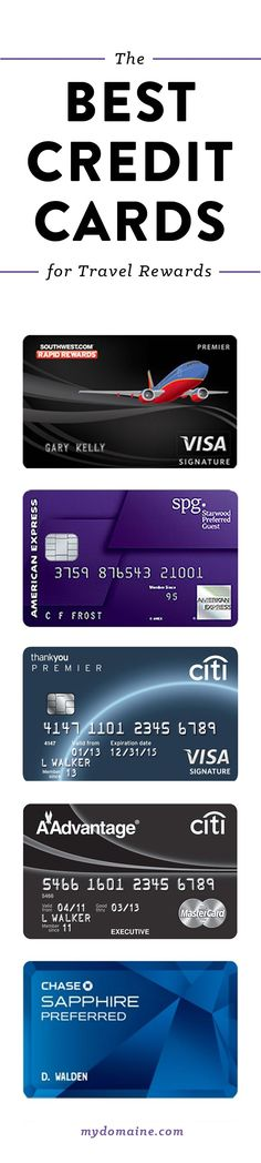 7 of the best credit cards for travel rewards