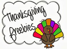 All Things Turkey...Gobble!  Gobble! {freebies included}