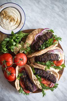 Beef Kofta Rolls wit