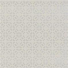 sussex - silver wallpaper | Designers Guild