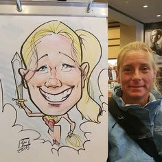 #caricature at #barnesandnoble  for there #batmanvsuperman day. #prismacolor #artstix #chartpak