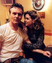 Anthony Stewart Head and Kristine Sutherland